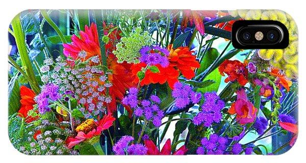 Mid August Bouquet IPhone Case
