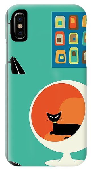 Mid Century Mini Oblongs IPhone Case