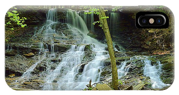 Middle Branch Falls Lower Tier #1 IPhone Case