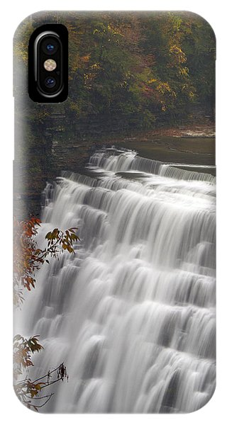 Middle Falls II IPhone Case