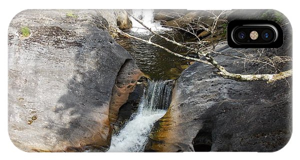 Middle Kent Falls IPhone Case