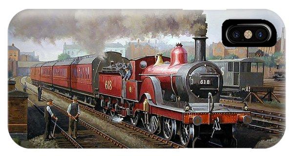 Midland Railway Single 1896. IPhone Case