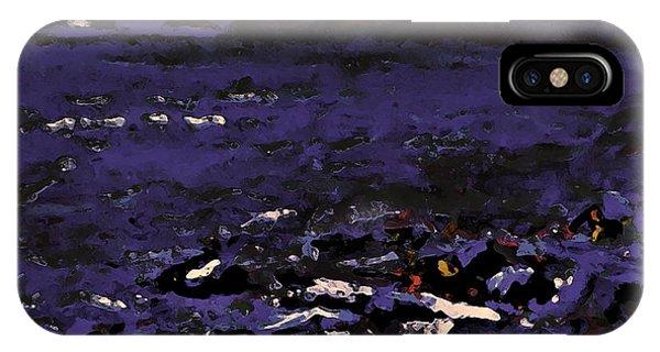 Midnight Beach IPhone Case