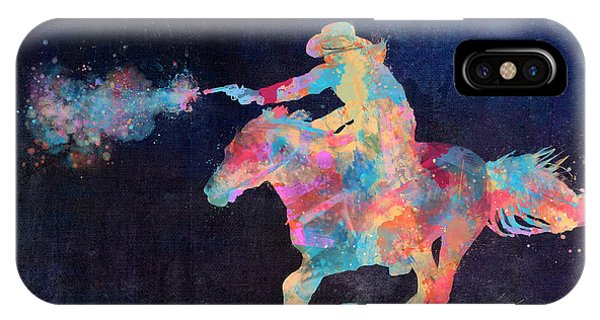 Midnight Cowgirls Ride Heaven Help The Fool Who Did Her Wrong IPhone Case