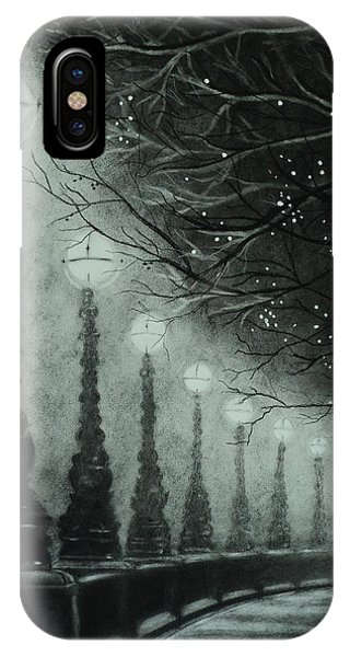 Midnight Dreary IPhone Case