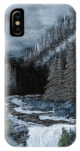 Midnight Falls Phone Case by Dave Atkins