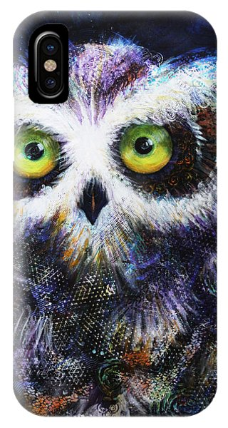 Midnight Hoot IPhone Case