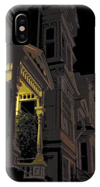 Midnite iPhone Case - Midnight San Francisco by Daniel Hagerman
