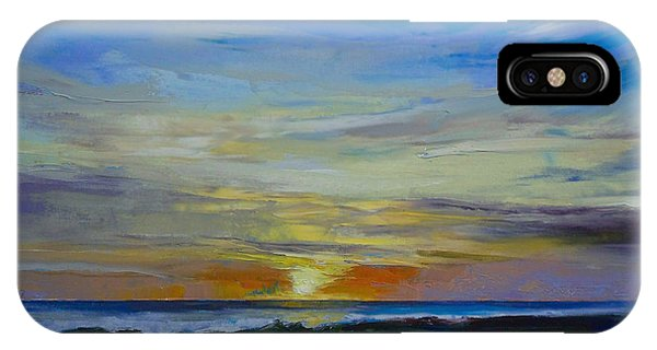 Sonne iPhone Case - Midnight Sun by Michael Creese