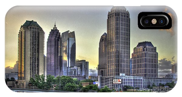 Midtown Atlanta Sunrise IPhone Case