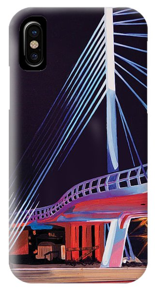 Midtown Greenway Sabo Bridge IPhone Case