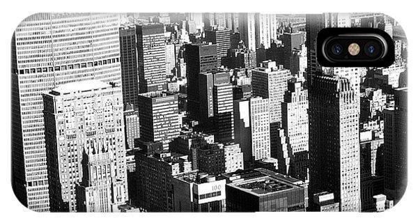 Midtown Manhattan 1972 IPhone Case