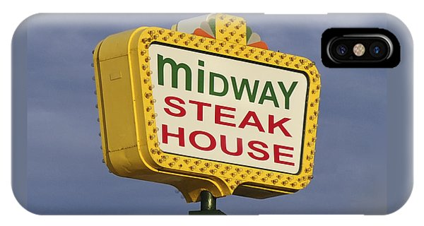 Midway Seaside Heights Boardwalk Nj IPhone Case