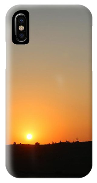Midwest Sunset Phone Case by Angie Phillips aka Angieclementine