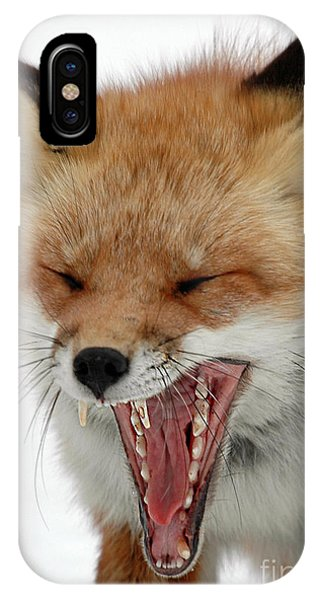 Mighty Big Yawn IPhone Case
