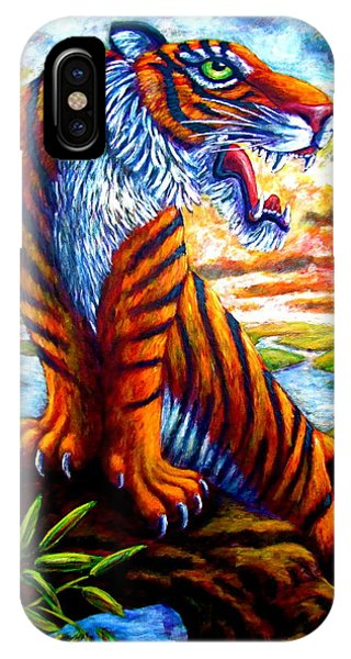 Mighty Tigress IPhone Case