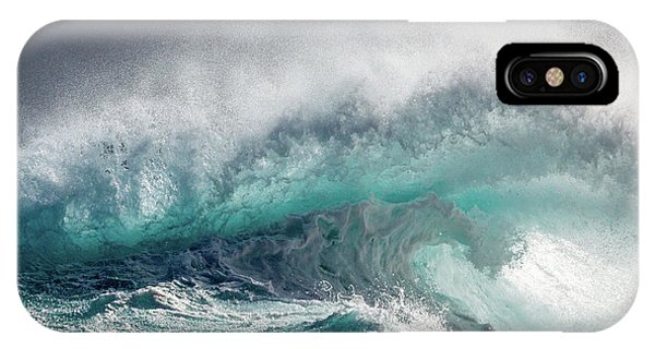 Storm iPhone Case - Mighty Water by Michelle Degryse