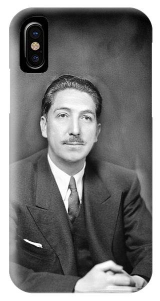Miguel Alem�n (1900-1983) Phone Case by Granger