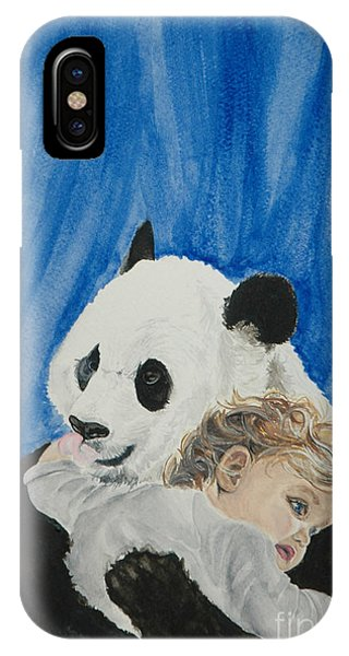 Mika And Panda IPhone Case
