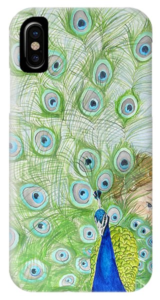 Mika And Peacock IPhone Case