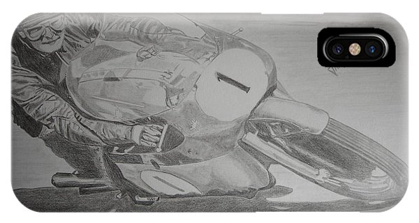 Mike Hailwood Phone Case by Jose Mendez