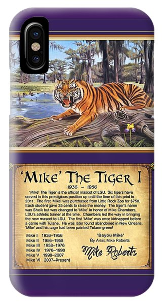 Mike The Tiger I IPhone Case