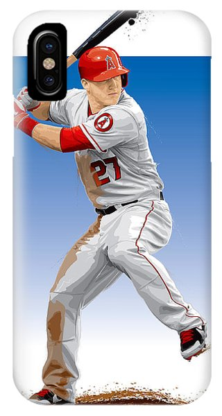 Mike Trout IPhone Case