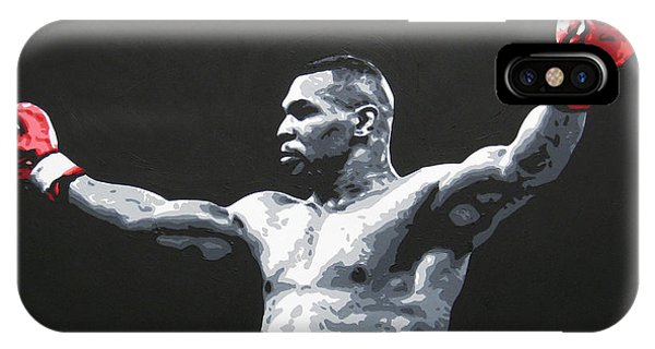 Mike Tyson 1 IPhone Case