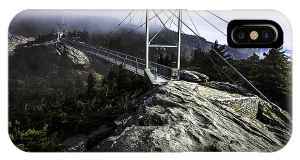 Mile High Bridge-grandfather Mountain IPhone Case