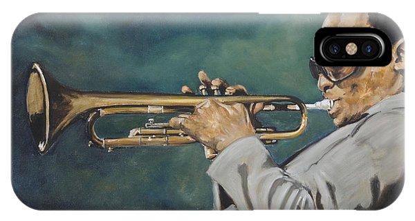 Miles Davis - Solo IPhone Case