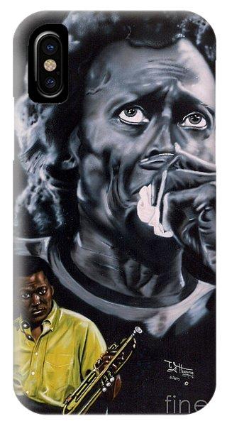 Miles Davis Jazz King IPhone Case