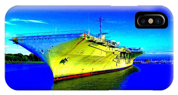 Military Ship 2 Phone Case by Ron Kandt