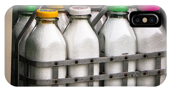 Milk Bottles IPhone Case