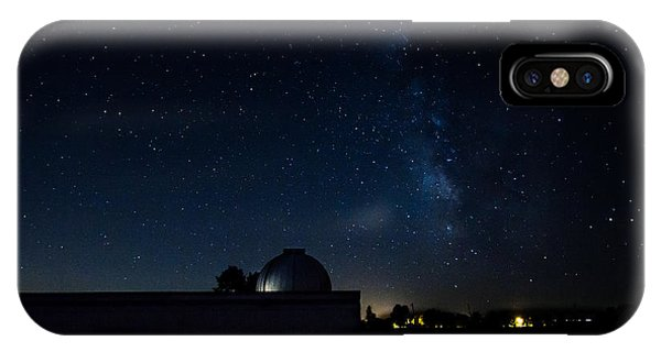 Milky Way And Observatory IPhone Case