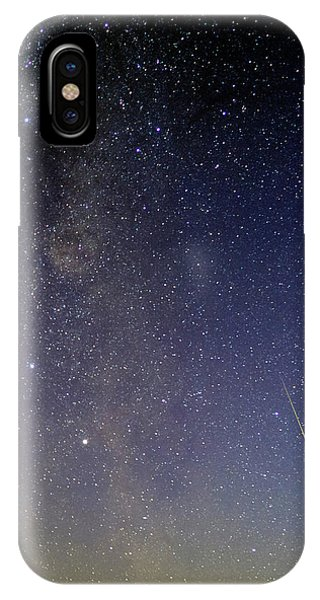 Astrophysical iPhone Case - Milky Way And Shooting Star by Babak Tafreshi