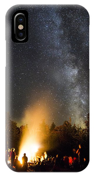 Milky Way At Flagstaff Hut IPhone Case