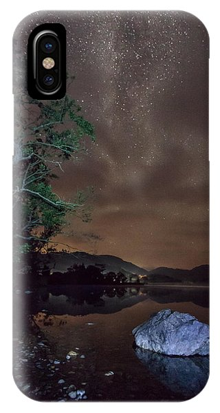 Milky Way At Gwenant IPhone Case