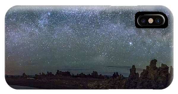 Milky Way At Mono Lake IPhone Case