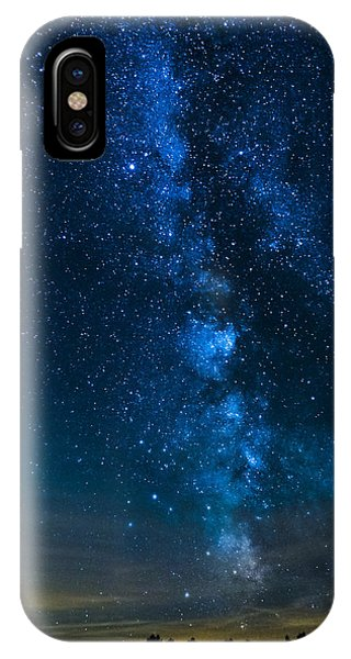 Milky Way Cherry Springs IPhone Case