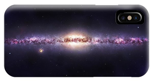 IPhone Case featuring the photograph Milky Way Galaxy by Celestial Images