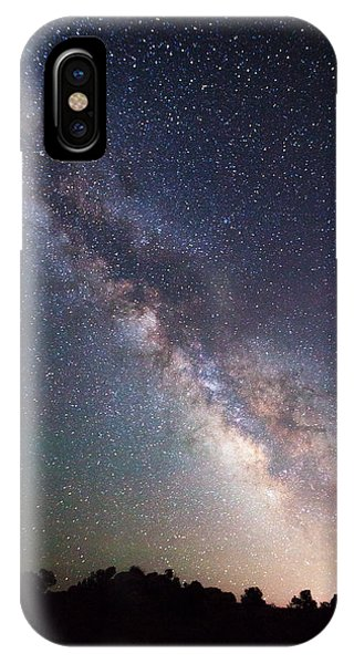 Middle Of Nowhere iPhone Case - Milky Way On The Rocks by Darren  White