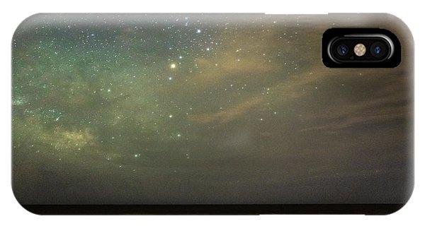 Milky Way Over Folly Beach IPhone Case