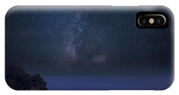 Milky Way Over Mcway Falls IPhone Case