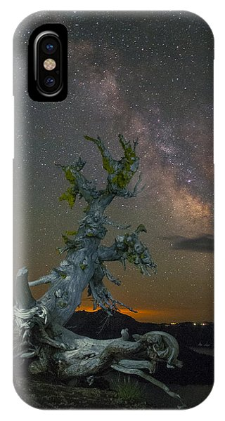 Milky Way Tree Phone Case by Abe Blair