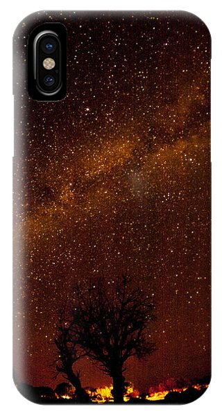 Milky Way Tree IPhone Case