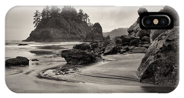 Mill Creek And Pewetole Island At Trinidad State Beach IPhone Case