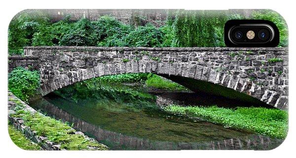Mill Race Bridge. Hagley Museum. IPhone Case