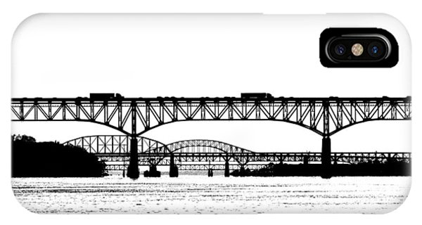 Millard Tydings Memorial Bridge IPhone Case