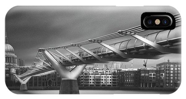 Dome iPhone Case - Millennium Bridge by Ahmed Thabet