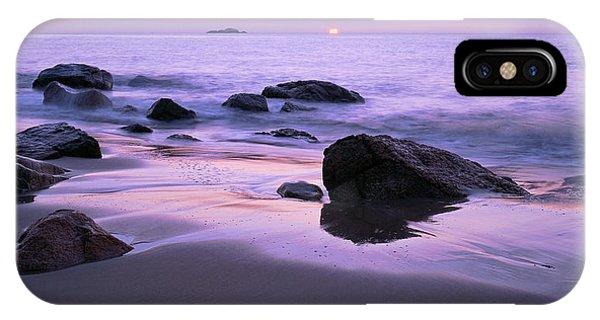 Millennium Sunrise Singing Beach IPhone Case